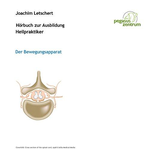 Hörbuch zur Ausbildung für Heilpraktiker: Der Bewegungsapparat Titelbild