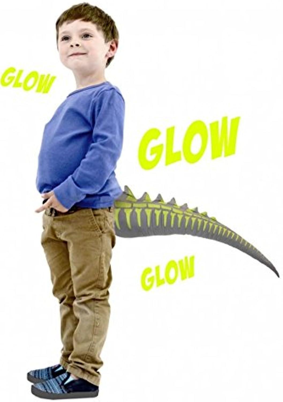 TellTails Wearable Glow in The Dark Dinosaur Dino Tail Fancy Dress Accessory