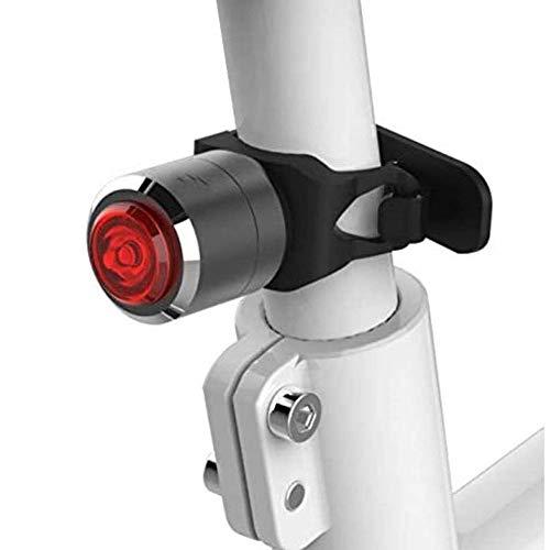 ZBQLKM MTB trasera Noche Equitación Ciclismo Accesorios de bicicletas intermitente en la noche Advertencia de carga USB, bicicletas a prueba de agua Montar la luz posterior de la parte posterior LED d