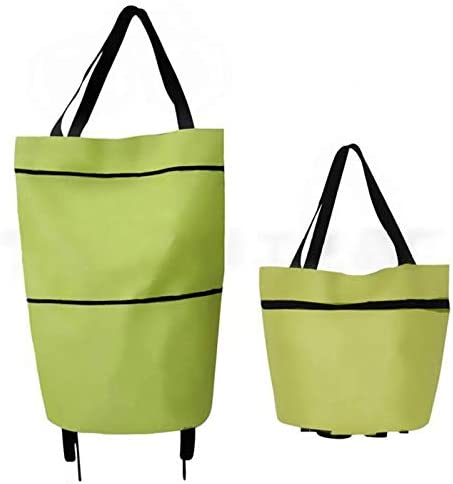 Popular overseas ZLSP Shopping Cart Collapsible Trolley Foldable Re Bag Trust