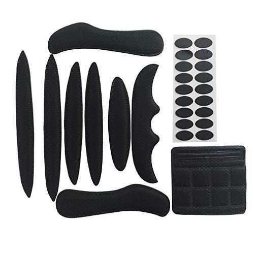 HehiFRlark - Kit de almohadillas de espuma universales para casco de bicicleta de moto