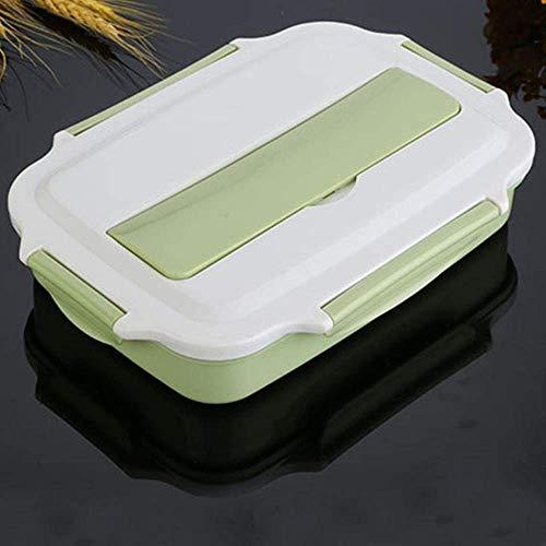 Boîte à Lunch en Acier Inoxydable Boîte à bento écologique Conteneur Alimentaire Thermos Boîte à Micro-Ondes pour Enfants Étanche Convient pour l'école de Bureau