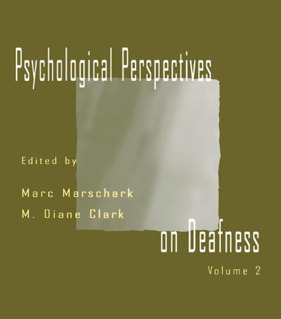 知覚できる第四ケーブルPsychological Perspectives on Deafness: Volume II (English Edition)