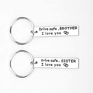 SOLDOUT™ Drive Safe Keychain Gift For Couple, Husband, Wife, Father, Mother, Girlfriend, Boyfriend, Fiancée, Sister, Broth...