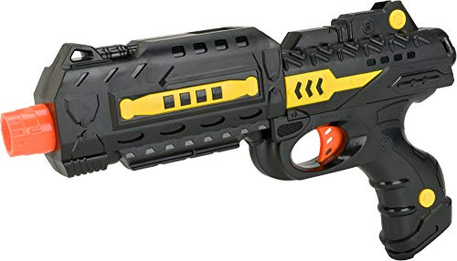 Evike Gel Bead-Ball Water Gun - 2 in 1 Dart and Gel Ball Toys- Single Shot Long Pistol/Random Color