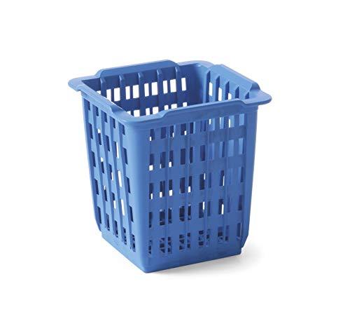 HENDI Cesta para cubiertos: azul   125x84x