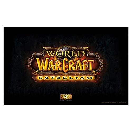 Gaming Alfombrilla de Ratón Grande Wow extendido Gaming Mouse Pad World of Warcraft Games Gran Teclado Estera del Mouse de la Alfombrilla para computadora PC Desk Home Office (Size : 900x400x3mm)