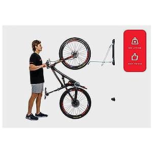 Steadyrack MTB Rack Estante de Almacenamiento para Bicicletas, Unisex, Negro, Talla única
