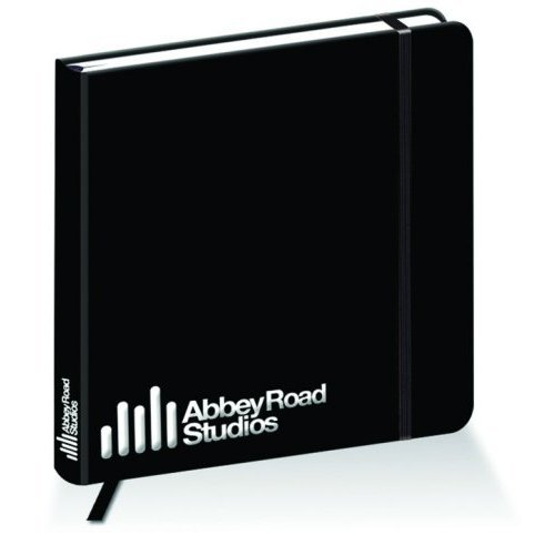 The Beatles Black Hardback Journal Notebook Abbey Road Studios Jotter Official