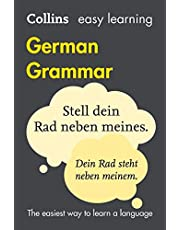 Easy Learning German Grammar: Trusted support for learning (Collins Easy Learning)