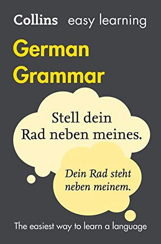 Collins Easy Learning German – Easy Learning German Grammar