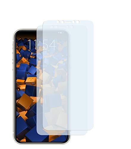 mumbi Schutzfolie kompatibel mit iPhone 11 Folie klar, Displayschutzfolie (2x)