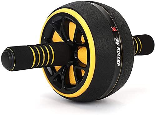 Fitness Zone - Rueda Abdominal Ab Wheel Roller | Entrenamiento para abdominales | Con alfombrilla antideslizante para Entrenamiento en casa