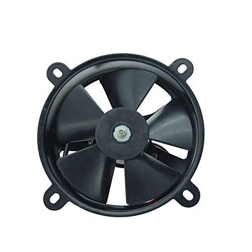 FMingNian MN-Parts, 1 UNID 12V Ventilador de enfriamiento Radiador Universal DC Cooler Power Fan Fit para 200-250CC Motor refrigerado por Agua ATV Quad Go-Kart Motocross FS-006 (tamaño : Radiator)