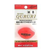 キザクラ(kizakura) ウキ ZENSOH QURURI M-B オレンジ