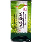 みどり園 有機緑茶 深むし茶 100g