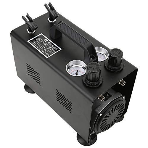Compresor de aire 1/6HP G1/8in, pulverización de pistón de cilindro único, aerógrafo...