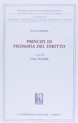 Principi di filosofia del diritto