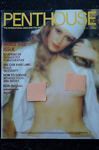 PENTHOUSE UK Vol 11 N° 02 JOHN LINDSAY Earl MILLER Jeff DUNAS Allan NEUMANN Xaviera HOLLANDER