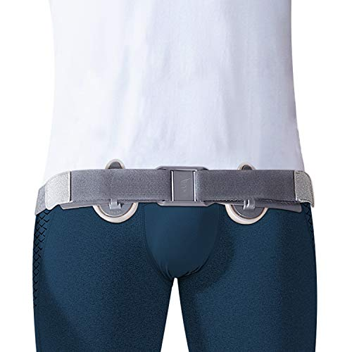 Hernia Belt for Men & Women with Left and Right Hernia Support, Inguinal Hernia Truss for Inner & Outer Groin Hernias, Adjustable Hernia Band for Post Surgery, Umbilical, Incisional, Femoral Hernia