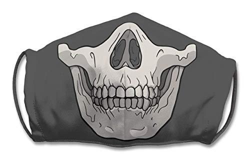Small Adjustable Skull Face Mask