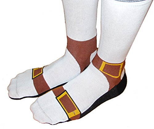 Sandal Socks - Silly Socks Look Like You're Wearing Sandals and Sox
