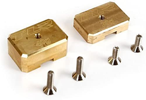 Brass Weißht System, 20g, 40g  8T 3.0 by Team Losi