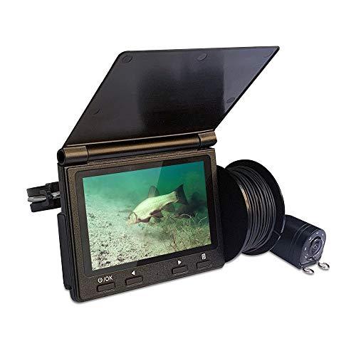 GENERIC X6 4.3 inch 720P Fish Finder Underwater Fishing Camera 2600mAh 8 Pcs LED Light Vision Smart Sonar Sensor Display