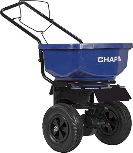 Chapin 8201A 80-Pound Residential Salt Spreader, Blue