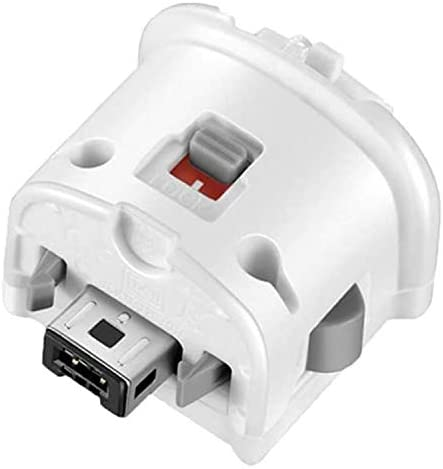 SogYupk Wii Motion Plus Adapter for Original Nintendo Wii Remote Controller (White 2 Pieces)