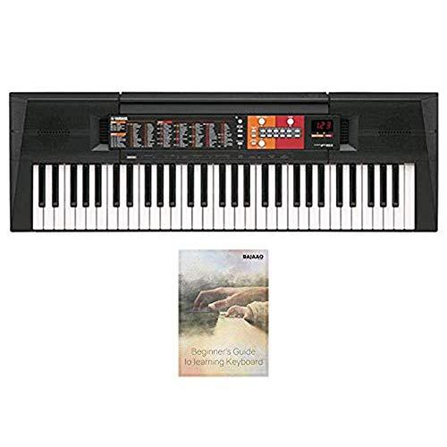 Yamaha PSR-F51 61-Keys Portable Keyboard E-Book and 3-Years Official Warranty from Yamaha