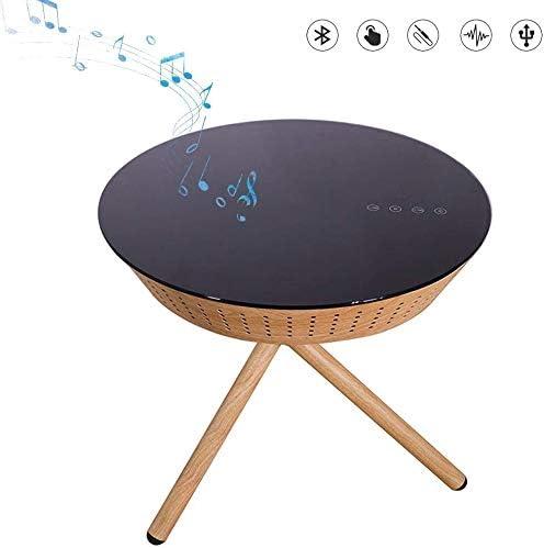 Zoujun Smart Bluetooth Kaffeetisch Nachttisch Wireless Charging Usb Holztisch Amazon De