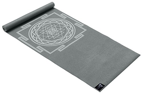 Yogistar Yogamatte Basic Sri Yantra, graphit