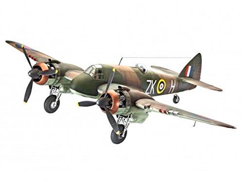 Revell Modellbausatz Flugzeug 1:32 - Bristol BEAUFIGHTER Mk.I F im Maßstab 1:32, Level 4, originalgetreue Nachbildung mit vielen Details, 04889