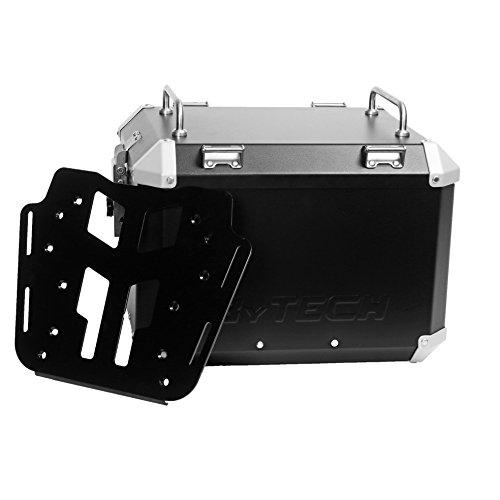 MyTech - Kit top case 41 litres noir avec plaque de fixation pour - BMW R 1200 R
