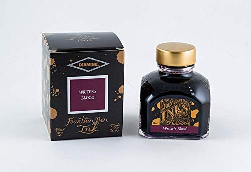 Diamine 80ml Bottled Seasonal Wrap Introduction Ink Large discharge sale - Blood. Writer's Special Pac Edition