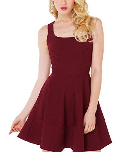 Purpura Erizo -  Vestito  - Donna rosso XX-Large