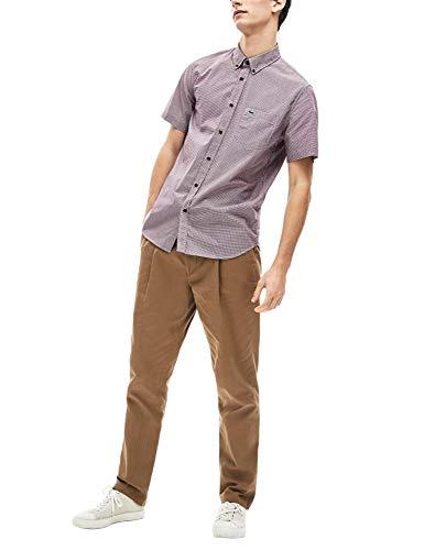 Lacoste - Camisa Punto Manga Corta Hombre - Ch0004