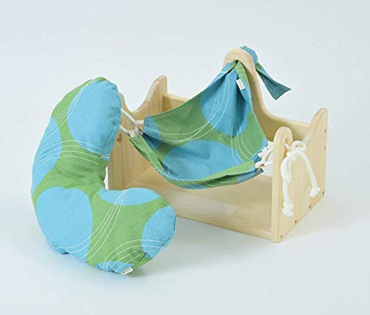 雑種適用する寝具エムアイストーリー/ハンモックピローα (サークルG) 良質な睡眠のための枕 癒しのまくら 首こり 肩こり ストレス対策