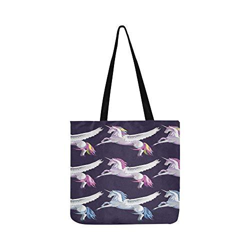 Vektor Set 9 Blau Rosa Regenbogen Leinwand Tote Handtasche Schultertasche Crossbody Taschen Geldbörsen Für Männer Und Frauen Einkaufstasche