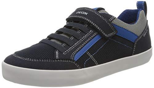 Geox Jungen J Kilwi Boy E Sneaker, Blau (Navy/Royal C4226), 32 EU