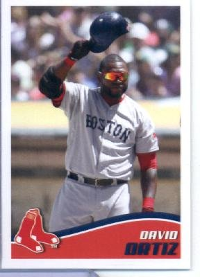 2013 Topps MLB Baseball Sticker #15 David Ortiz