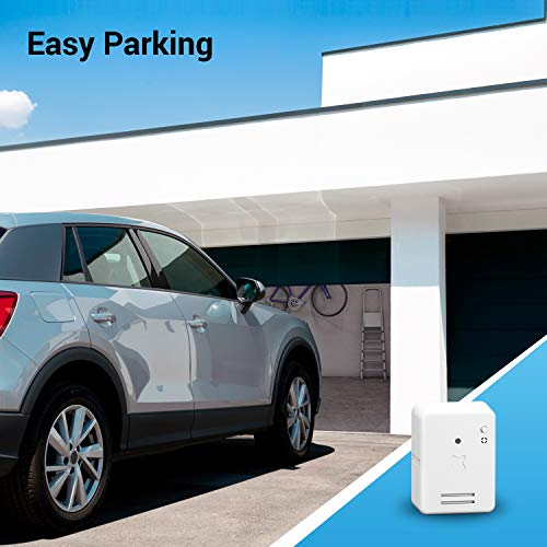 Baintex Easy Parking Apertura de la Puerta del Garaje con Móvil por Bluetooth para 5 Usuarios ¡Líbrate De Los Mandos! Compatible con Todas Las Puerta de Garaje Fácil y Rápido