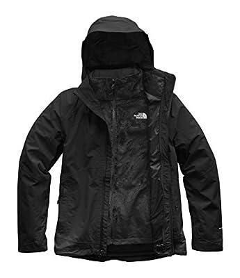 The North Face Women's Osito Triclimate Jacket - TNF Black & TNF Black - S