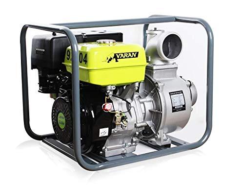 Varan Motors - 92704 Benzinwasserpumpe 4'' 90m³/h 13HP Benzinmotorpumpe
