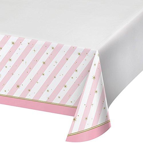 Creative Converting Kunststoff-Tischdecke mit Randaufdruck, Twinkle Toes