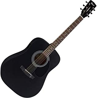 Cort Standard Series AD810 Acoustic Guitar, Black Satin