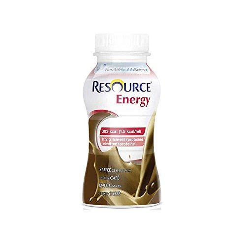 Nestle Trinknahrung Resource® Energy Kaffee, 200ml, 4 Stück