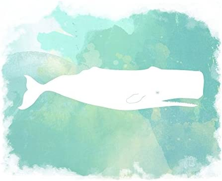 Heart of The Sea Sperm Whale by Tina Lavoie Art Print 12 x 10 inches product image