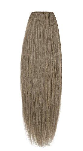 American Dream Remy 100% cheveux humains 35,6 cm soyeuse droite Trame Couleur 18 – Blond Cendré